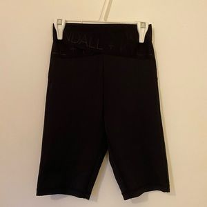long workout shorts